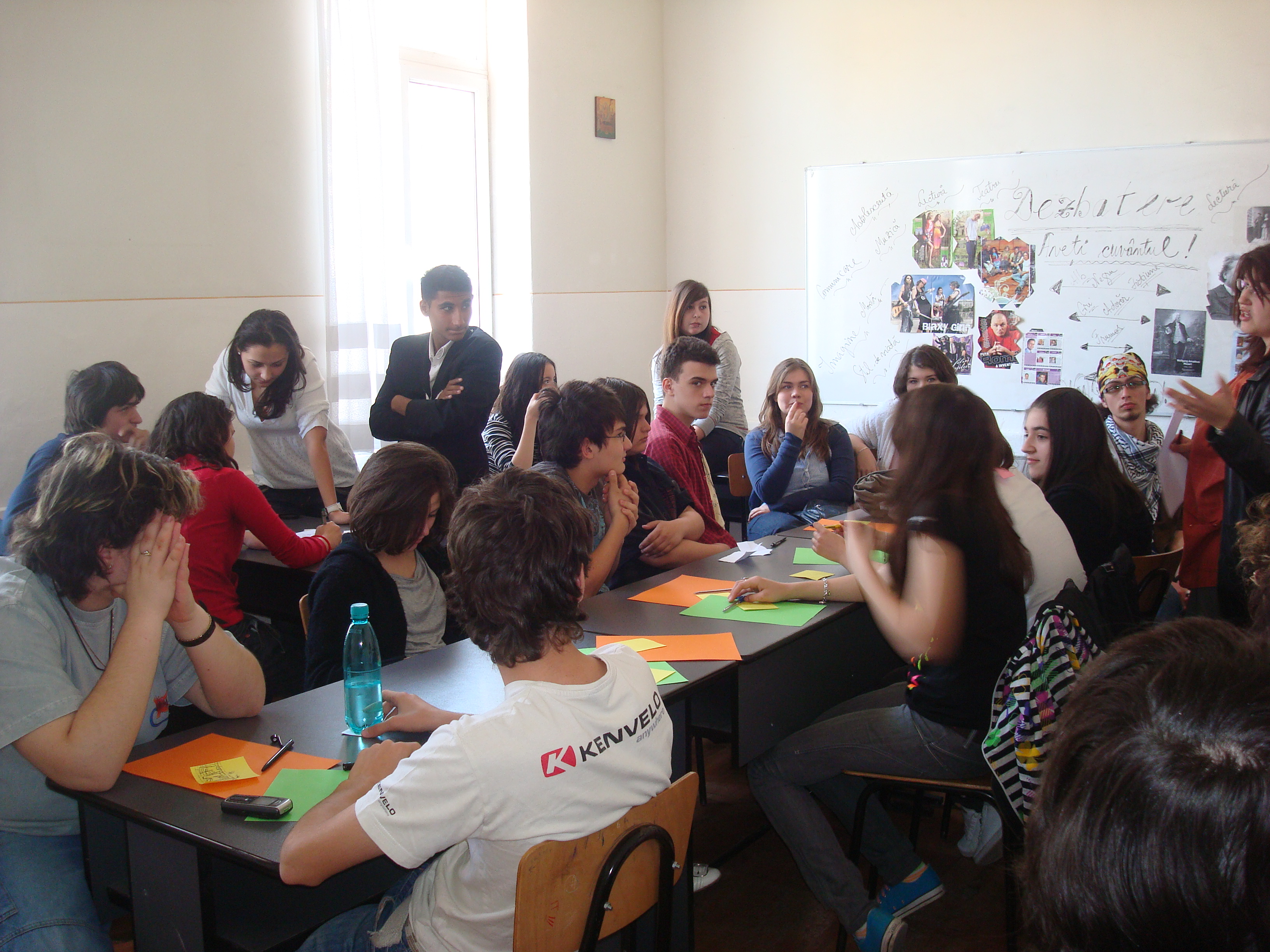 dezbatere-concurs clasele a X-a-ziua liceului 2009-2