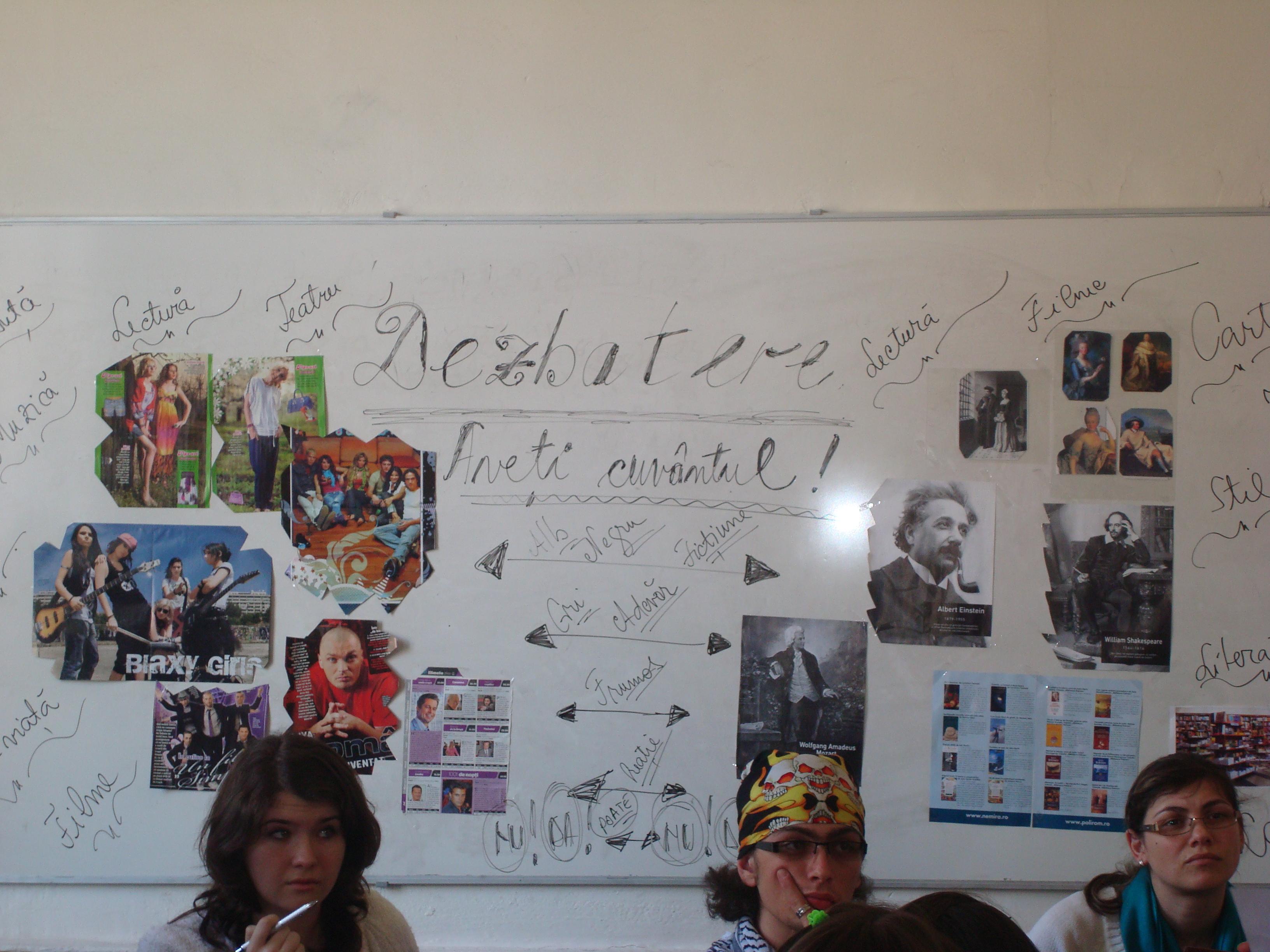 dezbatere-concurs clasele a X-a-ziua liceului 2009